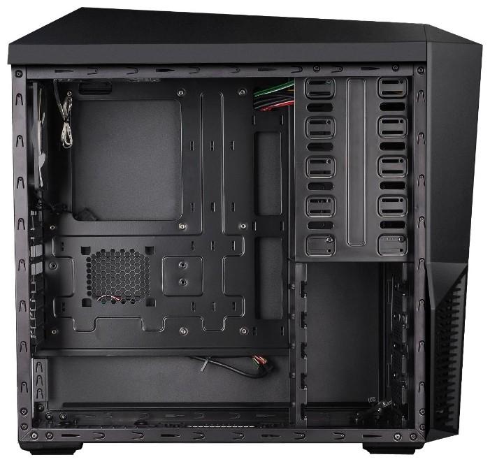 Корпус zalman z11 (black) steel/plastic, middletower в чутовому