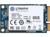 Накопитель SSD mSATA 60 Гб Kingston SSDNow mS200 SMS200S3/60G  ,синий,rtl