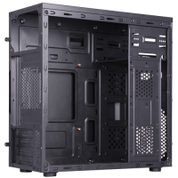 Корпус Navan IS002-U3-BK без БП, Mini Tower/mATX, черный