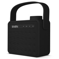 Колонка Bluetooth Sven PS-72 2.0 6Вт(2*3Вт),USB, microSD,FM, черный,rtl