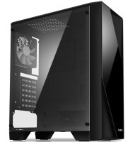 Корпус Zalman S1 без БП, Midi-Tower/ATX, mATX, черный