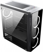 Корпус Accord JP-X без БП, Midi-Tower/ATX, mATX, черный