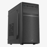 Корпус Aerocool Cs-103 без БП, Mini-Tower/mATX, черный