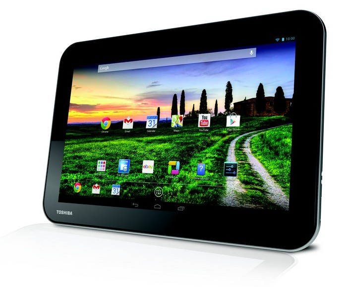 "Планшет Toshiba  AT10-A 10.1""/1280x800 Android 4.2/32 Гб/1 Гб, 3G, черный, rtl(коробка)"