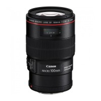 Объектив Canon EF 100mm f/2.8L MACRO IS USM Canon EF, черный, rtl