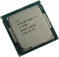 Процессор Intel Core i7 8700 3,2 ГГц (4,6ГГц Turbo Boost) (s1151 v.2, 12Мб, Intel® UHD 630, 2666 МГц) Coffee Lake oem